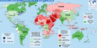 Carte de la situation juridique de l'homosexualit� � travers le monde