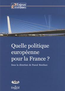 QUADRI - Quelle politique européenne pour la France