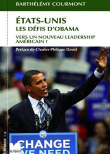 QUADRI - Etats-Unis Les défis d'Obama
