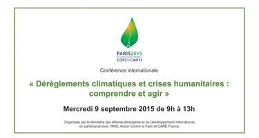 OK Fond vidéo Streaming Conf COP21 MAE -07-09-15