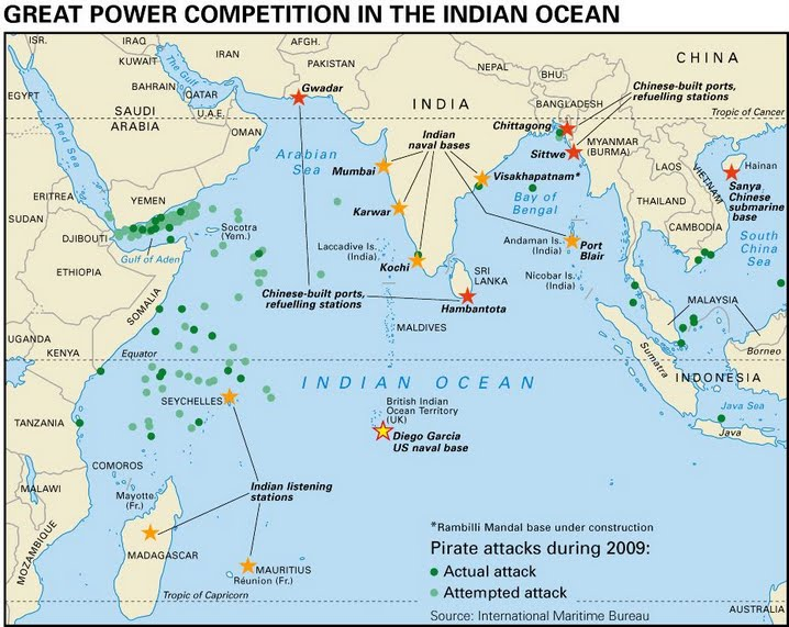 """Evolving Geopolitics of Indian Ocean: In-depth Analysis"", Ahsan ur Rahman Khan, Oriental Review, Août 2013"
