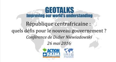 Geotalk - Centrafrique - 13-06-16