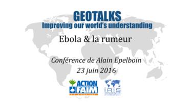 Geotalk - Ebola - 06-07-16